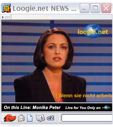Marc Lee: Monika Peter - Live for you only on loogie.net