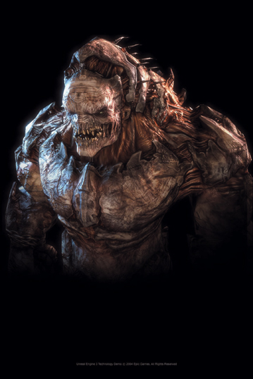 Monster in Unreal 3, 2004