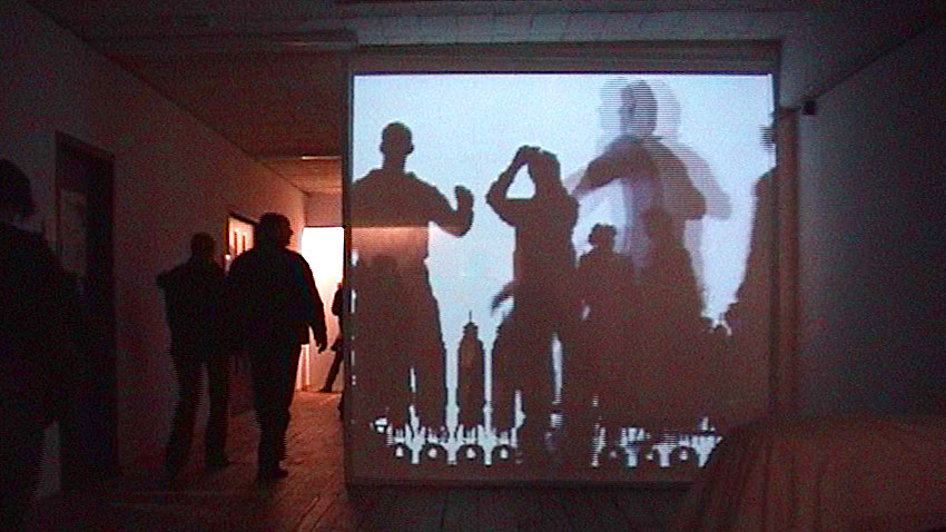 Digital Shadows Installation